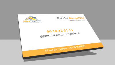 carte de visite start together