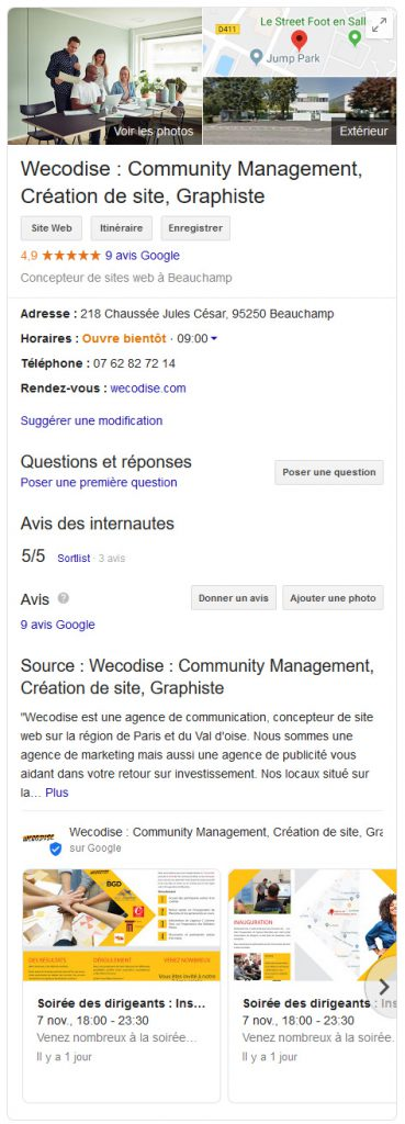 5 raisons optimiser google my business